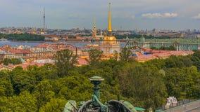 Punkty zwrotni Petersburg, Rosja fotografia royalty free