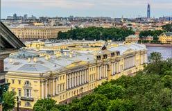 Punkty zwrotni Petersburg, Rosja obraz royalty free