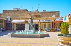 Punkty zwrotni Vank aleja w Julfa, Isfahan, Iran Obraz Royalty Free