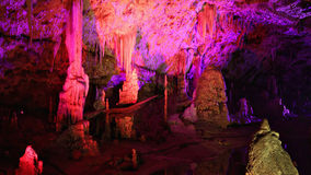 Punkva Cave in the Moravsky Kras, Moravian Karst Stock Photo