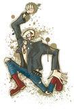 Punky ilustración del vector
