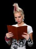 Punky con la biblia Fotos de archivo