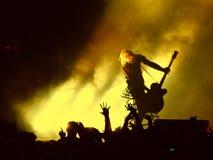 punky-roca concert2 Imágenes de archivo libres de regalías