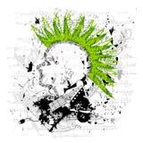 Punky/vector sucios de Emo Fotografía de archivo