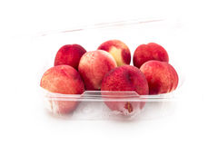 Punnet Nectarines Stock Photography