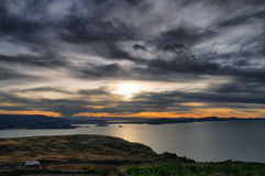 Puno, озеро Titicaca Стоковые Изображения