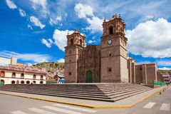 The Puno Cathedral Stock Photography