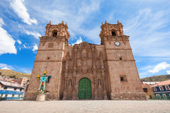 The Puno Cathedral Royalty Free Stock Photo