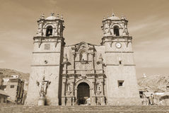 Puno Cathedral Royalty Free Stock Image