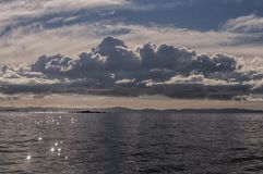 Puno, lac Titicaca Images libres de droits
