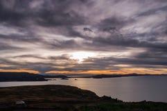 Puno, lago Titicaca Fotografie Stock Libere da Diritti