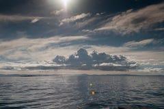 Puno, lago Titicaca Immagine Stock