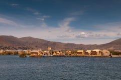 Puno, lago Titicaca Immagine Stock Libera da Diritti