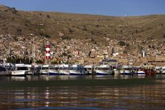 Peru - Lake Titicaca - Puno Royalty Free Stock Photos