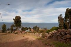 Puno, Titicaca lake Royalty Free Stock Image