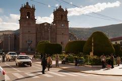 Puno, Titicaca lake Royalty Free Stock Photography