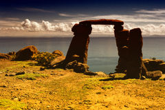 Puno, Titicaca lake Stock Image