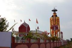 Punrasar Balaji świątynia z gigantyczną Hanuman statuą Blisko Bikaner Rajasthan indu Zdjęcia Royalty Free
