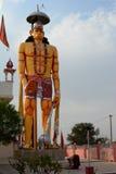 Punrasar Balaji świątynia z gigantyczną Hanuman statuą Blisko Bikaner Rajasthan indu Zdjęcie Stock