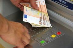 Punt 05 van het contante geld Royalty-vrije Stock Foto's
