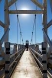Punt Bonita Lighthouse in Marin California Royalty-vrije Stock Foto