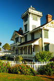 Punt Fermin Lighthouse royalty-vrije stock afbeelding