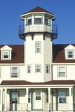 Punt Judith Lighthouse in Narragansett, Rhode Island royalty-vrije stock fotografie