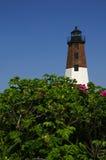Punt Judith Lighthouse Rhode Island stock afbeeldingen