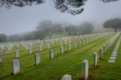 Punt Loma Cemetery Stock Afbeeldingen