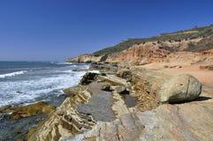 Punt Loma Coastline royalty-vrije stock afbeelding
