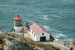 Punt Reyes Lighthouse stock afbeeldingen