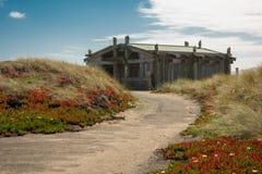 Punt Reyes National Seashore in het strand van Californië royalty-vrije stock fotografie