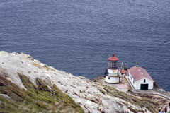 Punt Reyes National Seashore Lighthouse stock afbeelding