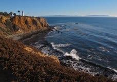 Punt Vicente op Palos Verdes Peninsula, Los Angeles, Californië Stock Afbeeldingen