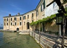 Punta Сан Vigilio, озеро Garda, Италия стоковые фото
