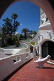punta Уругвай гостиницы casapueblo del este Стоковые Фотографии RF