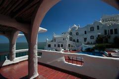 punta Уругвай гостиницы casapueblo del este Стоковая Фотография