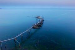Punta Adrci, natuurlijke reserve in Abruzzo stock afbeeldingen