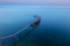 Punta Adrci, w Abruzzo naturalna rezerwa obrazy stock