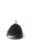 Punta aperta vicina isolata spazzola per capelli Fotografia Stock Libera da Diritti