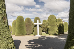 Punta Arenas cemetery Royalty Free Stock Photo
