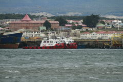 Punta Arenas Chile obrazy royalty free