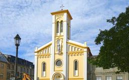 Punta Arenas, Chile- Dec 22, 2017. An Old Church Building at Punta Arenas, Chile Royalty Free Stock Photos