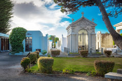 Punta Arenas, Chile - June 14th 2013 - The famous architecture of the public cemetery of Punta Arenas, Chile Stock Images