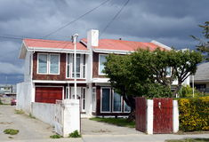 Punta Arenas is a city in Chile. PUNTA ARENAS, CHILE - NOVEMBER 21,2014: Punta Arenas is a city in Chile. The administrative center of the province and Royalty Free Stock Photo