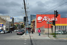 Punta Arenas is a city in Chile. Royalty Free Stock Photo