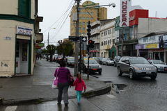 Punta Arenas is a city in Chile Royalty Free Stock Image