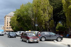 Punta Arenas is a city in Chile. Royalty Free Stock Images