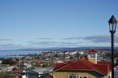 Punta Arenas historique, Chili photo stock