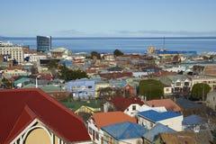 Punta Arenas historique, Chili photos stock